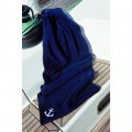Fleecefilt  av OCEAN ONE, Modell Solid (navy)