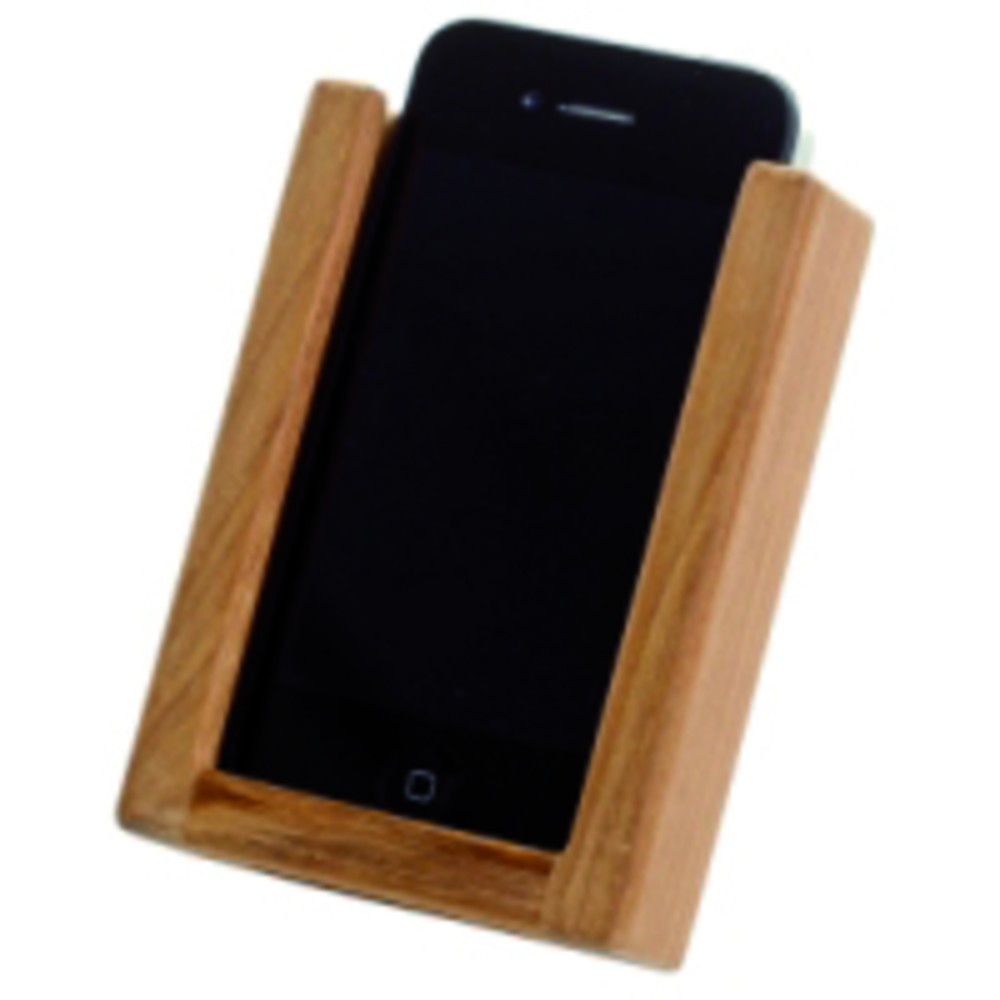 Teak Iphone-hållare